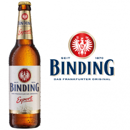 Binding Export 20x0,5l Kasten Glas