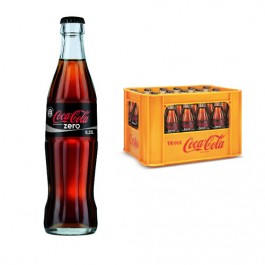 Coca Cola Zero 24x0,33l Kasten Glas