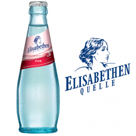 Elisabethen Quelle Pur Exclusiv 20x0,25l Kasten Glas