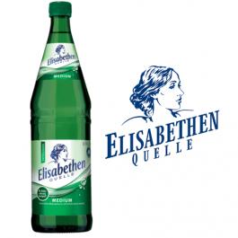 Elisabethen Quelle Medium 12x0,75l Kasten Glas