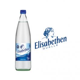 Elisabethen Quelle Spritzig 6x1,0l Kasten Glas