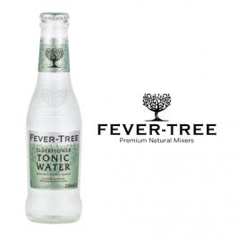 Fever Tree Elderflower Tonic Water 24x0,2l Kasten Glas