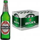 Beck's Bier 20x0,5l Kasten Glas