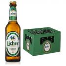 Licher Pilsner 24x0,33l Kasten Glas